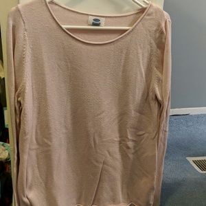 Light pink Old Navy sweater